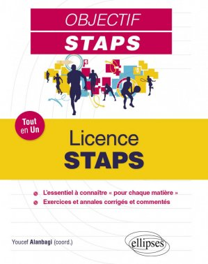 Licence STAPS - ellipses - 9782340029606