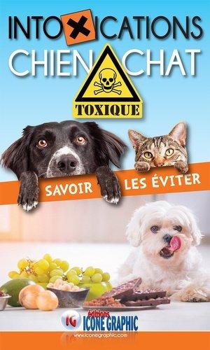 Livre guide pratique des intoxications chien chat - icone graphic - 9782357385085 -