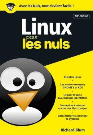 Linux pour les nuls - First - 9782412053256 -