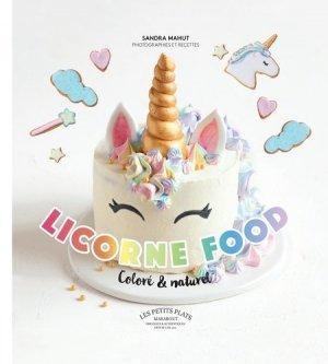 Licorne food - Marabout - 9782501125406 -