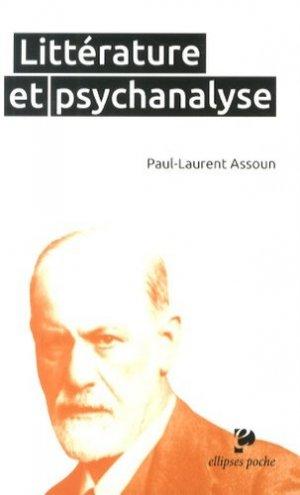 Littérature et psychanalyse - 0 - 9782729884499 -