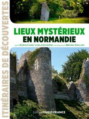 Lieux mystérieux en Normandie - ouest-france - 9782737370984 -