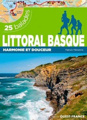 Littoral basque - 26 balades - ouest-france - 9782737373572 -