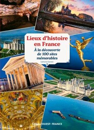 Lieux d'histoire en France - ouest-france - 9782737380730 -
