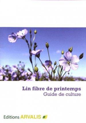 Lin fibre de printemps - arvalis - 9782817903828 -