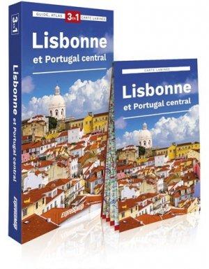 Lisbonne Et Portugal Central Guide Atlas Carte 1 17 500