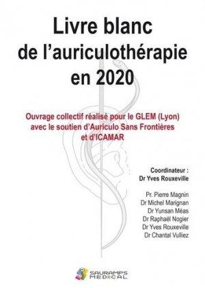 Livre blanc de l'auriculothérapie en 2020 - Sauramps Médical - 9791030302639 -
