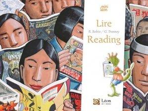 Lire / Reading - leon art et stories - 9791092232509 -