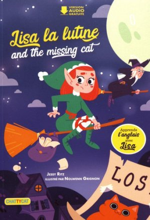 Lisa la lutine and the missing cat - chattycat - 9791096106288 -