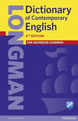 Longman Dictionary of Contemporary English For Advanced Learners 6th Edition - pearson - 9781447954200 -