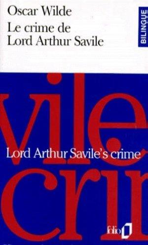 Lord Arthur Savile's crime - gallimard editions - 9782070389056 -