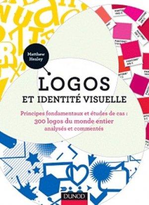 Logos et identité visuelle - dunod - 9782100563487 -