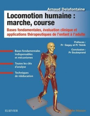 Locomotion humaine : marche, course - elsevier / masson - 9782294755040