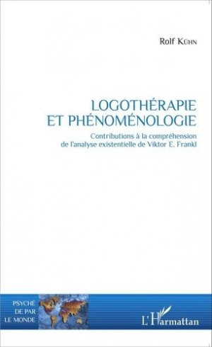 Logothérapie et phénoménologie - l'harmattan - 9782343073323 -