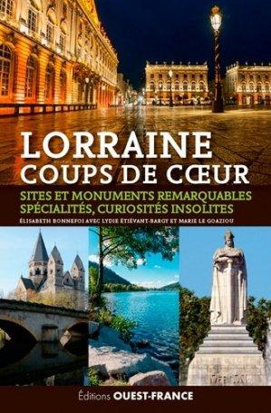 Lorraine coups de coeur - ouest-france - 9782737367878 -