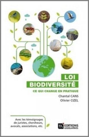 Loi biodiversité. Ce qui change en pratique - legislatives - 9782850862281 -