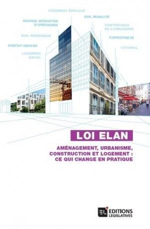 Loi ELAN - legislatives - 9782850863257 -