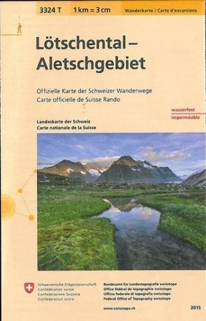 Lotschental-aletschgebietindechirable - Bundesamt Fur Landestopographi - 9783302333243 -