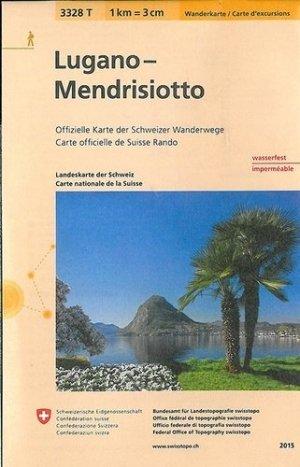 Lugano-mendrisiottoindechirable et resistante eau - Bundesamt Fur Landestopographi - 9783302333281 -