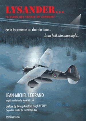 Lysander, l'avion qui venait de Londres - Editions Vario - 9782913663022 -