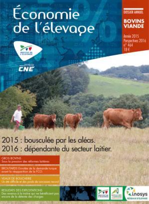 2015 : l'année économique viande bovine. Perspectives 2016 - technipel / institut de l'elevage - 2224574278278 -