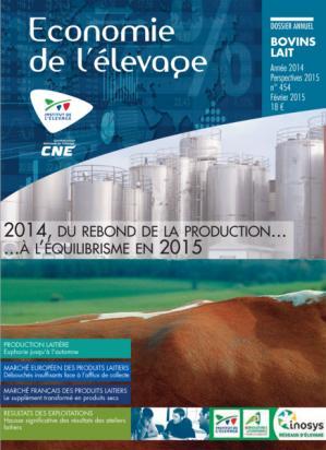 2014 : l'année économique laitière. Perspectives 2015 - technipel / institut de l'elevage - 2224579453052 -