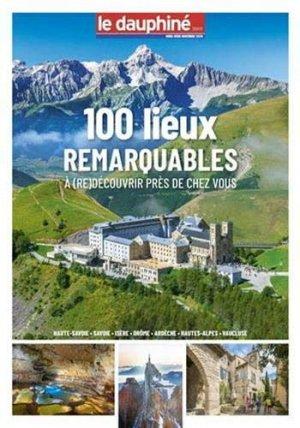 100 lieux remarquables - le dauphine libere - 3781446906206 -