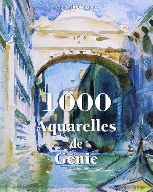 1000 aquarelles de génie - Parkstone International - 9781783109845 -