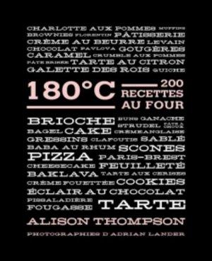 180° C. 200 recettes au four - Hachette - 9782012309609 -