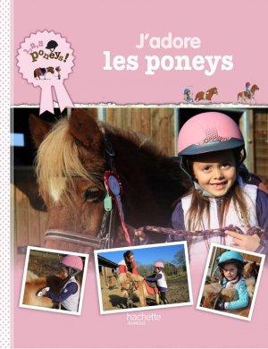 123 Poney titre 4 - J'adore les poneys ! - hachette  - 9782012900028 -