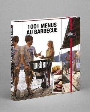 1001 menus au barbecue Weber - Larousse - 9782035874887 -