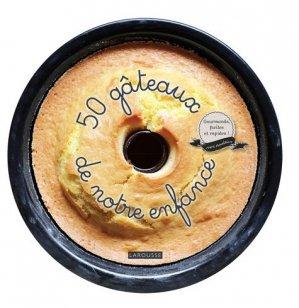 50 gâteaux de notre enfance - Larousse - 9782035895509 -