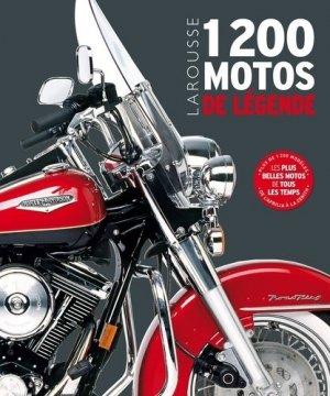 1200 motos de légende - larousse - 9782035963031 -