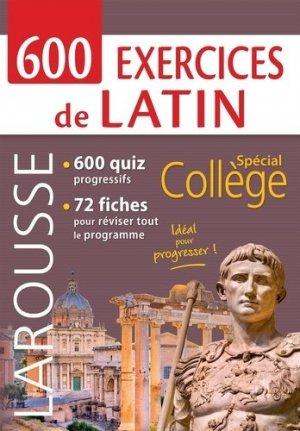 800 exercices de latin - Larousse - 9782035979179 -