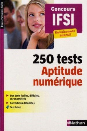 250 Tests - Aptitude numérique - nathan - 9782091639260 -