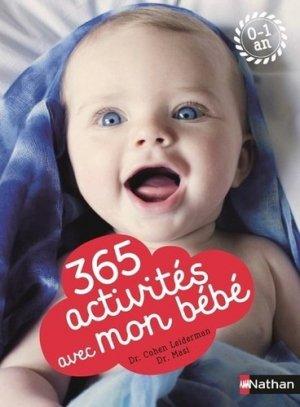 365 activites avec mon bébé - nathan - 9782092788400
