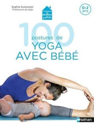100 postures de yoga - Nathan - 9782092791073 -