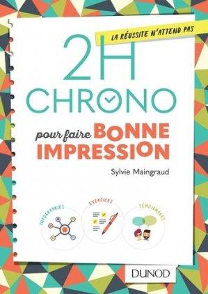 2h Chrono pour faire bonne impression-dunod-9782100764952