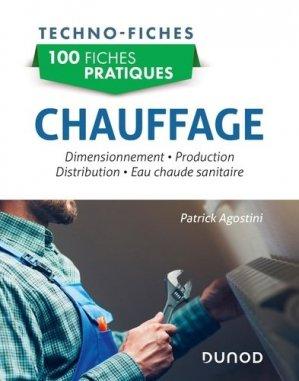 100 fiches pratiques Chauffage - Dunod - 9782100783540 -