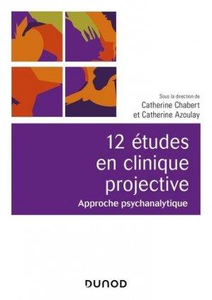 12 études en clinique projective - dunod - 9782100793976 -