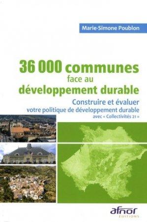 36000 communes face au développement durable - afnor - 9782124651283 -