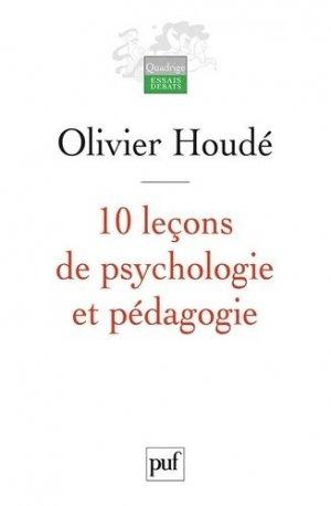 10 Leçons de psychologie et pédagogie - puf - presses universitaires de france - 9782130558118 -