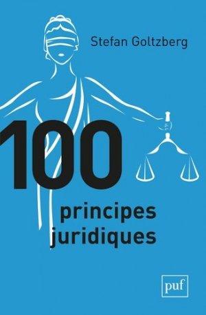 100 principes juridiques - puf - presses universitaires de france - 9782130800590 -