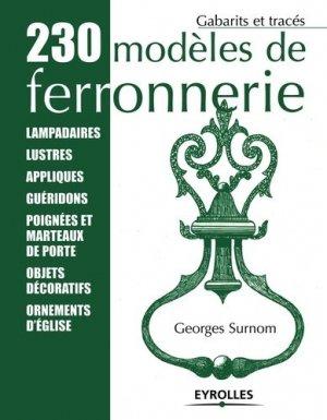 230 modèles de ferronnerie - Eyrolles - 9782212111507 -