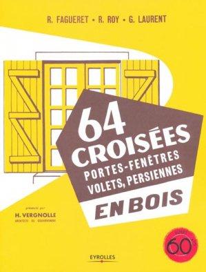 64 croisées en bois - eyrolles - 9782212129069 -