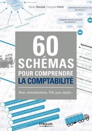 60 schémas pour comprendre la comptabilité - Eyrolles - 9782212565409 -