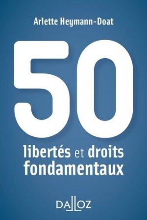 50 libertés et droits fondamentaux - dalloz - 9782247151127 -