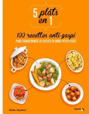 5 plats en 1 : 100 recettes anti-gaspi pour transformer les restes en bons petits plats - solar - 9782263066627 -