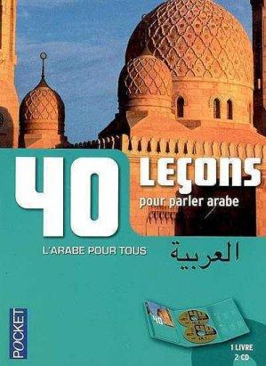 40 leçons pour parler arabe - Pocket - 9782266189095 -