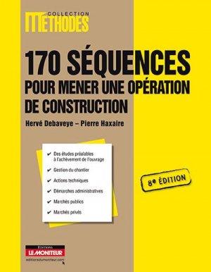 170 Séquences pour mener une opération de construction - le moniteur - 9782281115437 -